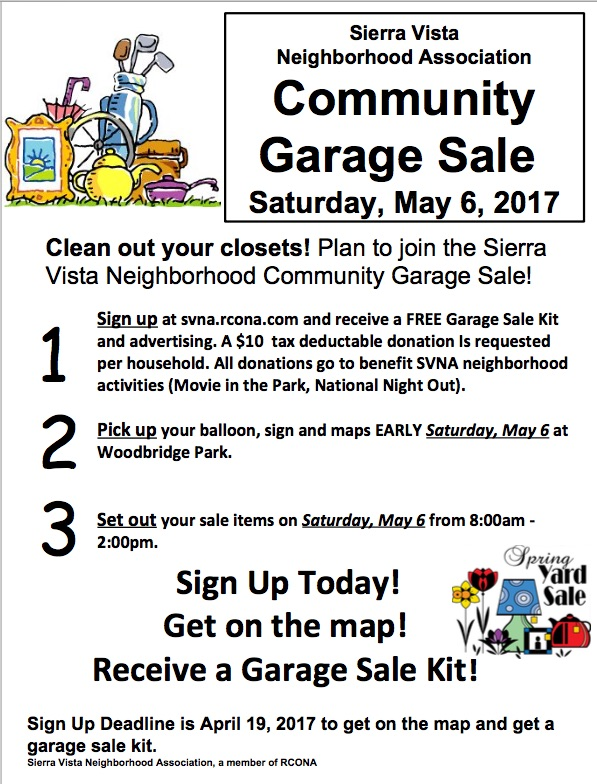 Garage Sale signup – How To Plan A Garage Sale